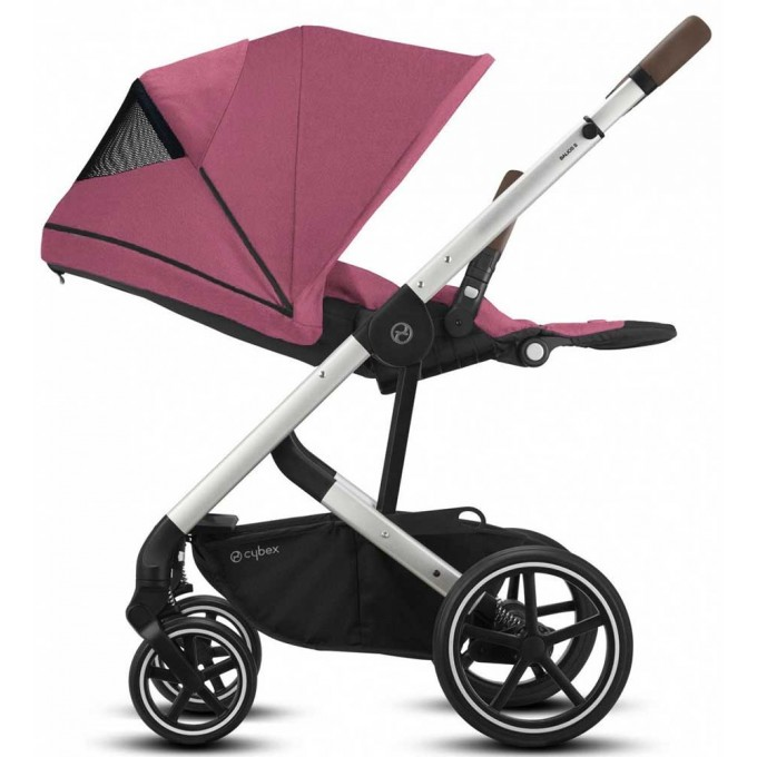 Коляска Cybex Balios S Lux SLV Magnolia Pink