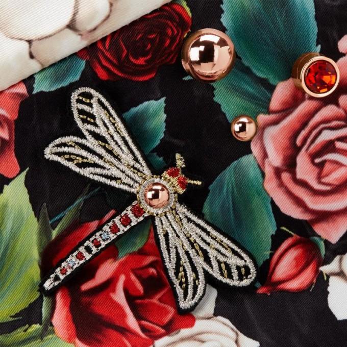 Коляска Cybex Priam 2 в 1 Blossom Dark шасі Rosegold