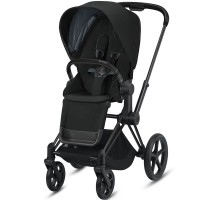 Коляска Cybex Priam Deep Black шасі Matt Black