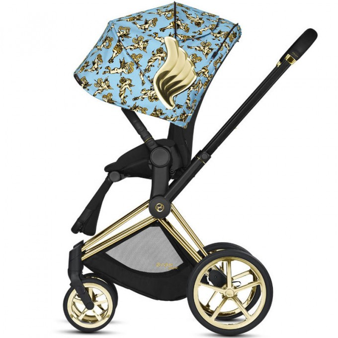 Коляска Cybex Priam 2 в 1 Jeremy Scott Cherubs Blue