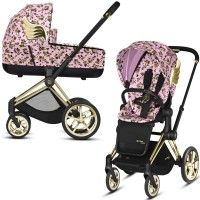 Коляска Cybex Priam 2 в 1 Jeremy Scott Cherubs Pink