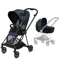 Коляска Cybex Mios 2 в 1 Jewels of Nature шасі Matt Black