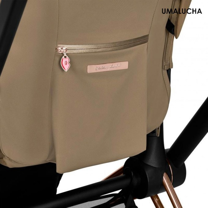 Коляска Cybex Priam 2 в 1 Karolina Kurkova шасі Chrome Brown