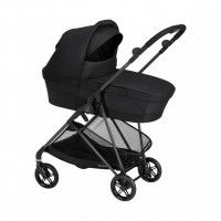 Коляска Cybex Melio 2 в 1 Carbon Deep Black