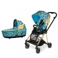 Коляска Cybex Mios 2 в 1 Cherubs by Jeremy Scott Blue