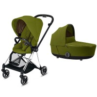 Коляска Cybex Mios 2 в 1 Khaki Green шасі Chrome Black
