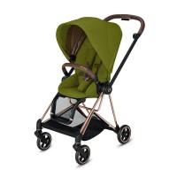 Прогулянкова коляска Cybex Mios Khaki Green шасі Rosegold