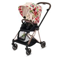 Прогулянкова коляска Cybex Mios Spring Blossom Light шасі Rosegold