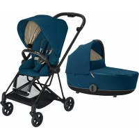 Коляска Cybex Mios 2 в 1 Mountain Blue шасі Matt Black