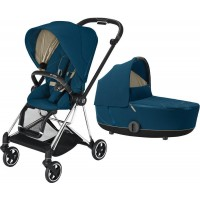 Коляска Cybex Mios 2 в 1 Mountain Blue шасі Chrome Black