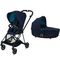 Коляска Cybex Mios 2 в 1 Nautical Blue шасі Matt Black