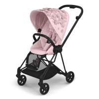 Прогулянкова коляска Cybex Mios Simply Flowers Pink шасі Matt Black