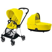 Коляска Cybex Mios 2 в 1 Mustard Yellow шасі Chrome Black