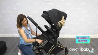Cybex Priam Jeremy Scott Wings black - відео огляд коляски
