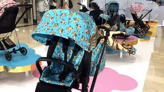 Cybex Priam Jeremy Scott Cherubs Blue -  презентація коляски